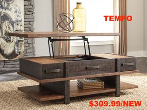 Stana Lift Top Coffee Table, Two-Tone for Sale in Fountain Valley, CA