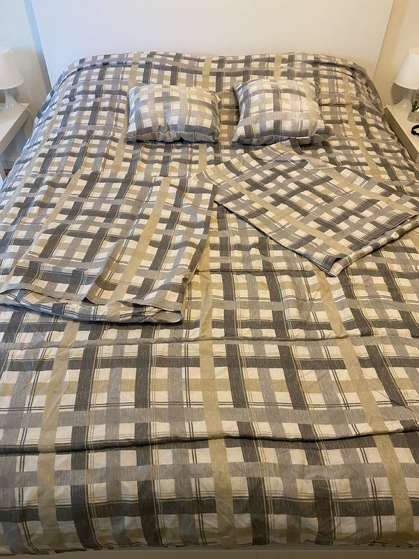 9 piece All in one Comforter Set