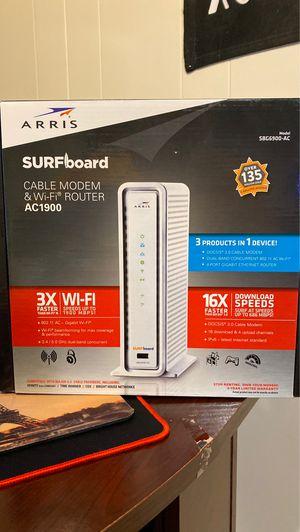 Arris Surfboard Modem & Router Xfinity Approved! for Sale in Skokie, IL