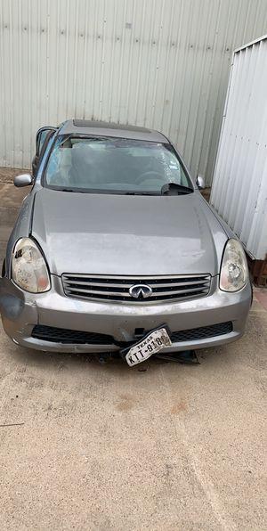 2006 infiniti g35x parts for Sale in Arlington, TX