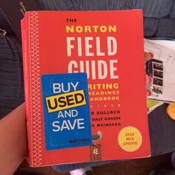 Nortons Field Guide To Writing With Readings And Handbook for Sale in Lakewood,  OH