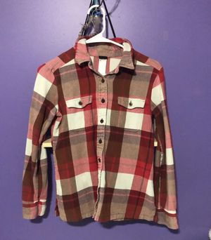 Women's Patagonia Plaid Flannel! for Sale in Circle Pines, MN