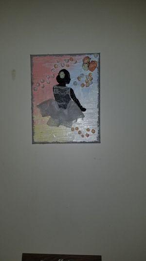 2 Oil multimedia canvas art for Sale in Stone Mountain, GA