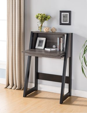 Bar Table/Desk, Distressed Grey for Sale in Downey, CA