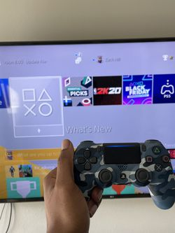 PS4 With 2 Controllers and 2k20 for Sale in Houston,  TX