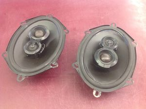PRICE IS FIRM - Polk audio dx7 car speakers 5x7 3-way for Sale in Columbus, OH