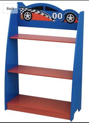 Race car book shelf for kids for Sale in Redmond, WA