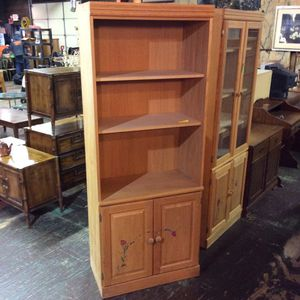Bookshelf with cabinet for Sale in Bellingham, MA