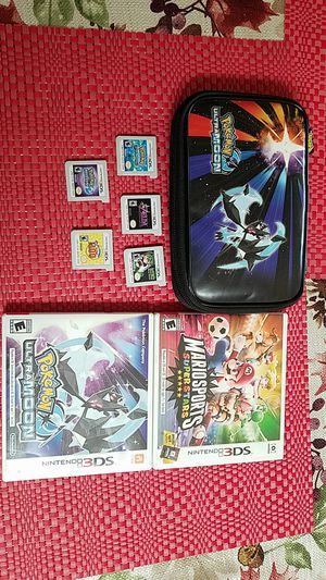 Entire 3ds Game Collection W/ 3ds Case! for Sale in Anaheim, CA