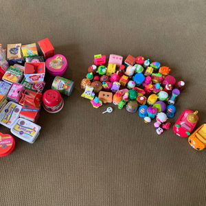 "Large 80+ Piece Shopkins lot - Mini Shopping Containers, Great For Your 18"" Dolls for Sale in Beaverton, OR"