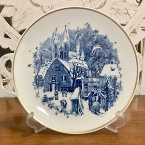 Antique Meissen Plate Christmas Village for Sale in Forney, TX