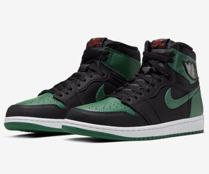 Jordan 1 Retro High Pine Green/Black for Sale in Plantation, FL