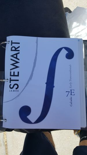 James Stewart 7th edition calculus for Sale in El Paso, TX
