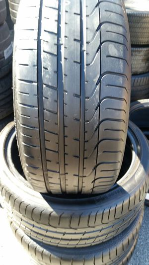 255/35/20 pirelli p-zero used tires low profile for Sale in Tampa, FL