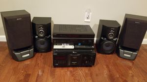 Sony stereo system for Sale in Temple Hills, MD