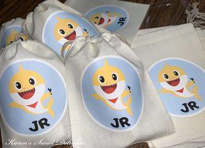 Personalized Baby Shark Baggies! / Bolsitas de Baby Shark Personalizadas! for Sale in Irving, TX