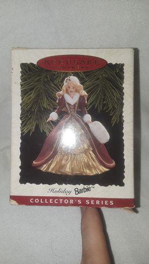 1996 Hallmark Holiday Barbie Keepsake Ornament for Sale in Smyrna, DE