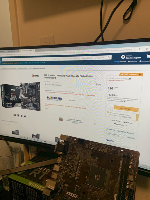 Msi motherboard come with a ryzen 3 stock fan