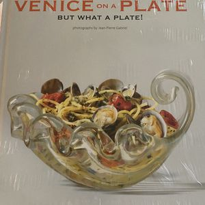Brand New In Packaging Venice On A Plate Book for Sale in West Palm Beach, FL