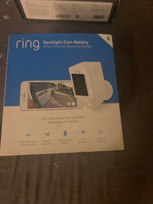 Ring spotlight cam battery for Sale in New Port Richey, FL