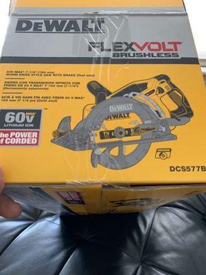 Dewalt flexvolt saw for Sale in Watertown, MA