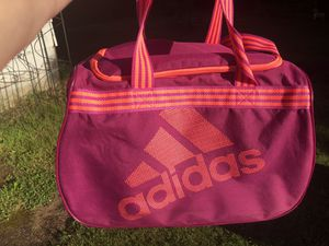 Colorful Adidas Duffle Gym Sport Bag with Striped Straps! for Sale in Portland, OR