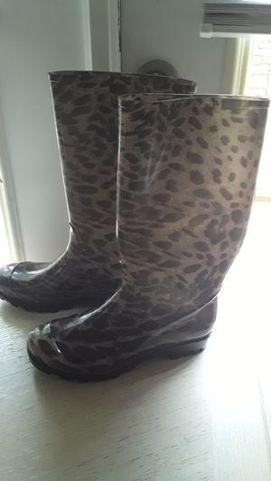 Women rain boots size 8 for Sale in Jonesboro, GA