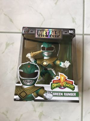 Green Power Ranger Metals Die Cast for Sale in San Diego, CA