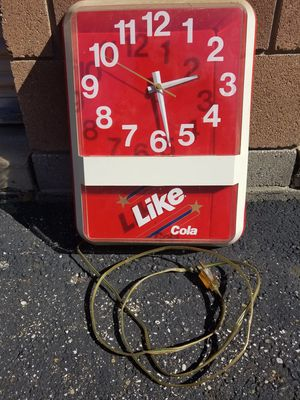 Clock Like cola Clock for Sale in Tallmadge, OH