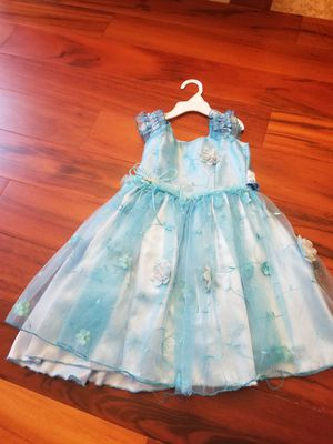 Blue butterfly dress costume for Sale in Clermont, FL