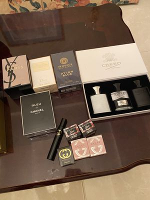 AUTHENTIC COLOGNES AND PERFUMES $65 EACH ( Miss Dior, YSL, Creed Aventus, Gucci Guilty , Gucci Bamboo, GucciFlora) for Sale in Dallas, TX