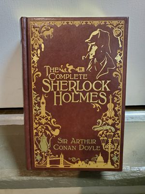 Leather Bound The Complete Collection of Sherlock Holmes for Sale in Fresno, CA