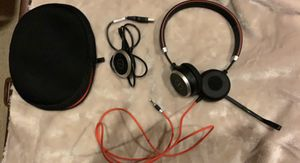 Jabra Evolve 40 Headset for Sale in Frisco, TX