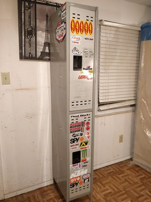 "Nice metal tool storage with shelves and napkins place in very good condition. L12""*W18""*H78"" for Sale in Annandale, VA"