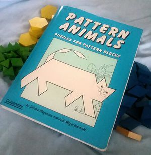 Pattern Animals - Puzzles For Blocks + Pattern Blocks for Sale in Gilmer, TX