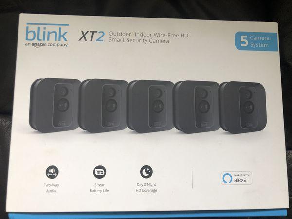 Blink xt2 outdoor indoor wireless battery cameras security WiFi 5 camera hd