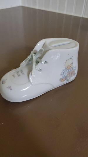 "Precious Moment ""Heaven Bless You"" Baby Shoe Bank for Sale in Tonawanda, NY"
