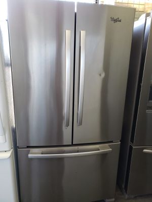 On Sale Whirlpool Refrigerator Fridge Free Delivery With Warranty #842 for Sale in Ontario, CA