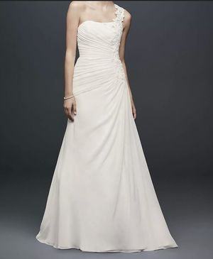 Chiflon Wedding Dress for Sale in Cypremort Point, LA