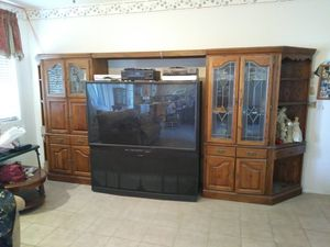 Entertainment center cabinets for Sale in Las Vegas, NV