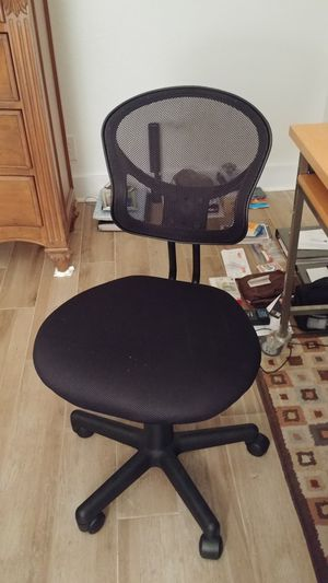 Black Computer Chair for Sale in Tampa, FL