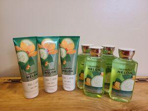 Bath & Body Works Cucumber Melon Signature Collection for Sale in Fairfax, VA