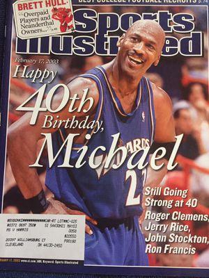 Jordan comeback magazine rare for Sale in Parma, OH