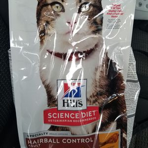 $5 New Hills Cat Food bag 3.5 pounds for Sale in Rancho Dominguez, CA
