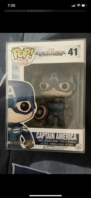 Funko pop Marvel Captain America The Winter Soldier for Sale in Los Angeles, CA
