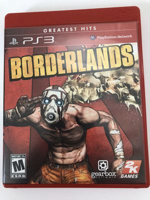 PS3 Borderlands Greatest Hits Tested for Sale in Fuquay-Varina, NC
