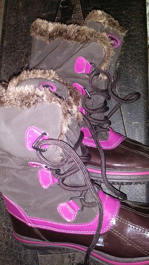 Girls snow boots for Sale in Oliver Springs, TN