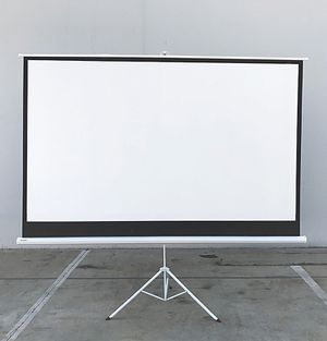 "Brand New $70 Tripod Stand 100"" Projector Screen 16:9 Ratio Projection Home Theater Movie for Sale in Pico Rivera, CA"