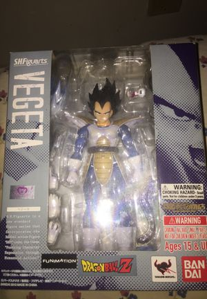S.H.F Figuarts Vegeta Dragonball Z collectible (2013) (very RARE) for Sale in New York, NY