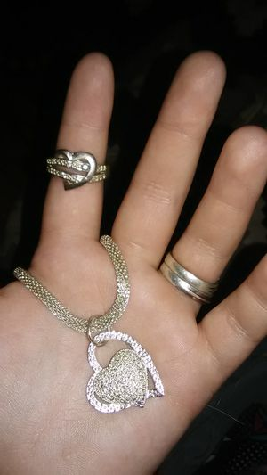 Necklace and ring together for Sale in Vidalia, GA